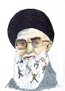 Cartoon: Proteste im Iran (small) by Skowronek tagged iran,ajatollah,khamenei,studenten,proteste,verhaftungen