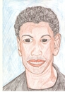Cartoon: danzel washigton (small) by paintcolor tagged danzel,washigton,actor,famous,hollywood