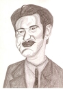 Cartoon: Quentin Tarantino (small) by paintcolor tagged film,moovie,director,actor,cinema,hollywood