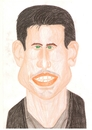 Cartoon: Tom Cruise (small) by paintcolor tagged caricature,tom,cruise,actor,famous,hollywood