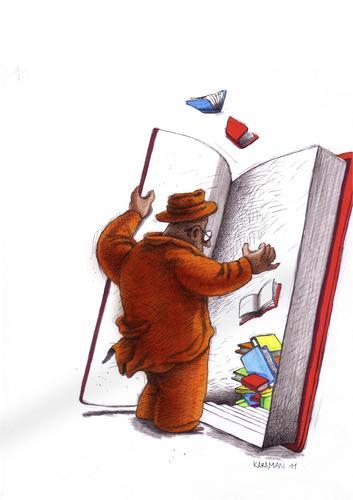 Bücher By Mehmet Karaman | Media & Culture Cartoon | TOONPOOL