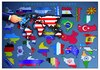 Cartoon: Country Flags and Shapes (small) by Makhmud Eshonkulov tagged nations,flags,shapes