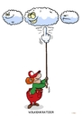 Cartoon: Wolken (small) by Christoon tagged wolken