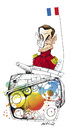 Cartoon: sarkozy (small) by hicabi tagged hicabi