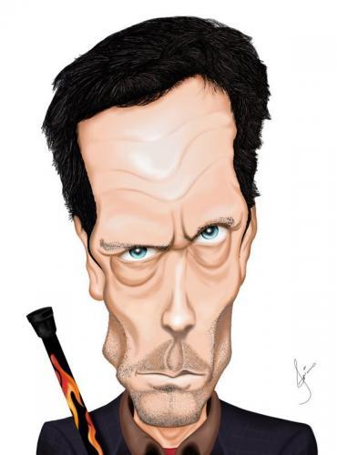 Image caricature de Hu...