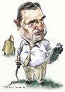 Cartoon: Augusto Pinochet (small) by Bob Row tagged chile pinochet dictator