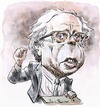 Cartoon: Bernie Sanders (small) by Bob Row tagged sanders,bernie,politics,usa,american,socialist,jewish