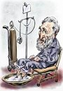 Cartoon: Fidel Castro (small) by Bob Row tagged castro cuba un usa embargo