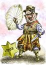 Cartoon: Hitler_gaucho (small) by Bob Row tagged argentina anisemitism junta hitler gaucho