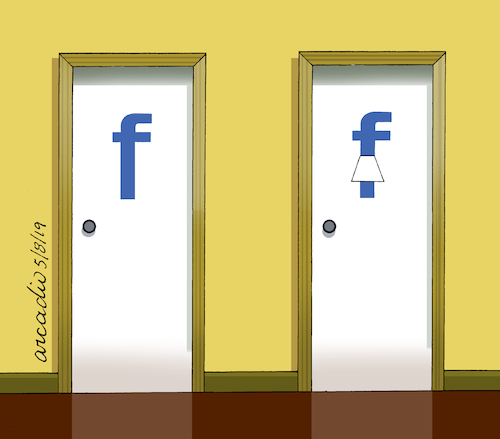 Cartoon: Uses for the F of Facebook 4 (medium) by Cartoonarcadio tagged internet,facebook,social,nets,computers