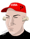 Cartoon: Cuba-the deaf government. (small) by Cartoonarcadio tagged cuba,socialism,castro,dictatorship