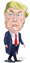 Cartoon: Donald Trump USA. (small) by Cartoonarcadio tagged trump,usa,washington,america,white,house