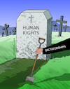 Cartoon: Humans Rights reality. (small) by Cartoonarcadio tagged human,rights,world,dictatorships,society