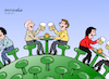 Cartoon: Life continues. (small) by Cartoonarcadio tagged life,covid19,pandemic,quarantine,health