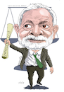 Cartoon: Lula Da Silva-Brazil (small) by Cartoonarcadio tagged lula,da,silva,brazil,latin,america,world,corruption