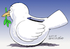 Cartoon: Preventive peace. (small) by Cartoonarcadio tagged peace,dialogue,talks,friendship