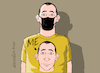 Cartoon: That is me. (small) by Cartoonarcadio tagged covid,19,coronavirus,pandemic,health,masks