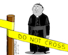 Cartoon: The catholic church in trouble. (small) by Cartoonarcadio tagged catholisism,church,pope,sexual,abuse,crime,priest