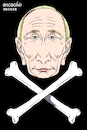 Cartoon: The poisonous Putin. (small) by Cartoonarcadio tagged putin,russia,europe,moscow,kremlin,politician