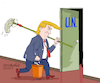 Cartoon: Trump and the UN. (small) by Cartoonarcadio tagged trump,un,us,president,government,bureaucracy