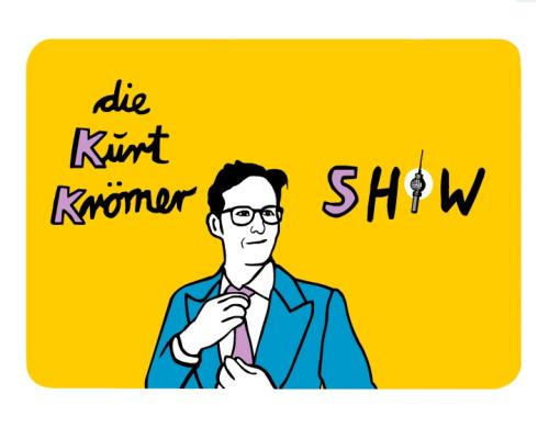 Cartoon: die Kurt Krömer Show (medium) by udoschoebel tagged kurt,krömer,show,udo,schöbel,udoschoebel,