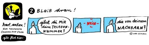 Cartoon: Karl-Anton FlirtTIPS2 (medium) by udoschoebel tagged flirttips,cartoon,popstar,udo,schöbel