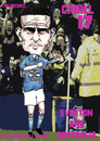 Cartoon: Tim Cahill - Everton and Austral (small) by bluechez tagged tim cahill everton australia football premiership