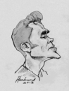 Cartoon: Morrissey (small) by Harbord tagged morrissey,caricature,sketch