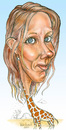 Cartoon: My tall friend Jill. (small) by Harbord tagged tall,woman,giraffe