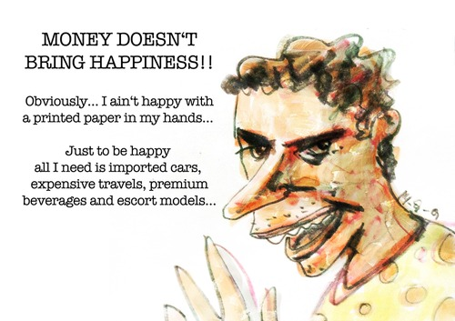 this i believe essay money doesn buy happiness Can money really buy happiness well, maybe david disalvo contributor i  if you tell me, 'go spend money on a life experience,' and i buy tickets to a baseball game, that would be authentic .