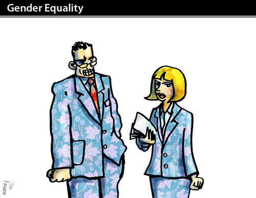 the ideas of gender inequality voiced Gender equality and inequality is an incredibly broadly defined area of research if you put a little bit of thought into it you can come up with any number of fascinating, creative and original topics for your opinion essay.
