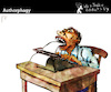 Cartoon: Authorphagy (small) by PETRE tagged artwork,work,author,writer,creative