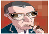 Cartoon: Jean Paul Sartre (small) by PETRE tagged caricature,sartre,france,philosophers