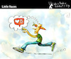 Cartoon: Little Races (small) by PETRE tagged internet,socialnetwork,likes,hearts,race
