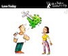 Cartoon: Love Today (small) by PETRE tagged love,covid19,coronavirus,pandemic,vaccine