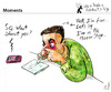 Cartoon: Moments (small) by PETRE tagged mirror,selfie,cocaine,addictions