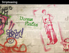 Cartoon: Stripteasing (small) by PETRE tagged graffiti,stencil,venus,milo