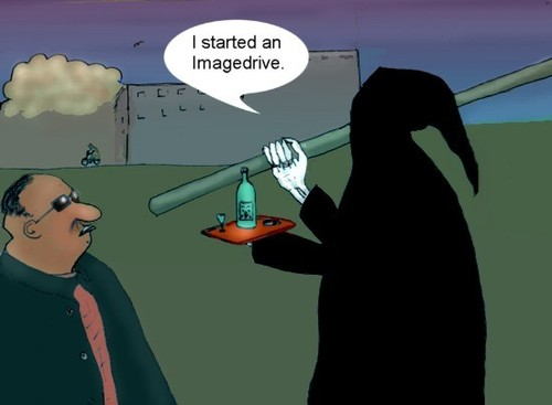 Cartoon: Imagedrive (medium) by Hezz tagged image