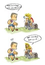 Cartoon: Worship (small) by zenchip tagged thor,worship,zenchip