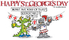 Cartoon: st georges day (small) by east coast cartoons tagged dragon,knight