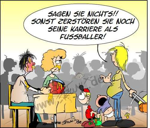 Cartoon: Kinderfreie Zonen (medium) by Trumix tagged kinderfreie,restaurants,erziehung,kinder,eltern,kinderfreie,restaurants,erziehung,kinder,eltern,karriere,fussball,baby,schreiend,brei,mutter,kinderwagen,tisch,essen