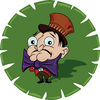 Cartoon: The Hatter (small) by gartoon tagged the,hatter