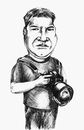Cartoon: The Photographer (small) by gartoon tagged photographer,men,artist