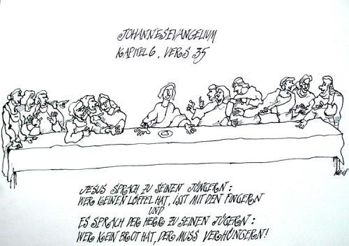 Cartoon ostern evangelium nach johannnes medium by nil auslaender