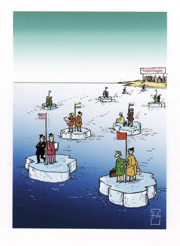 Cartoon: kopenhagen (medium) by Hule tagged natur