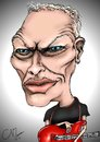 Cartoon: David Gilmour (small) by dvrnoztnc tagged david,gilmour,pink,floyd,caricature