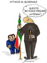 Cartoon: ATTACCO AL QUIRINALE (small) by Grieco tagged grieco,quirinale,napolitano,italia,satira,rocco
