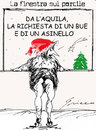 Cartoon: NATALE a l Aquila (small) by Grieco tagged grieco,natale,terremotati