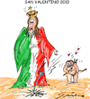 Cartoon: SAN VALENTINO (small) by Grieco tagged grieco,sanvalentino,italia,amore