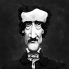 Cartoon: Edgar Allan Poe (small) by RyanNore tagged edgar,allan,poe,caricature,drawing,ryan,nore